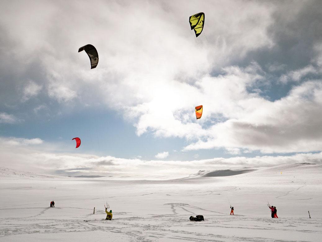 snowkite courses